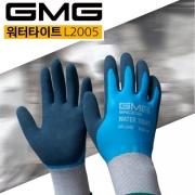 GMG 장갑 워터타이트 L2005 M,L 1조 라텍스코팅 방수